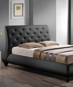 This Black Metropolitan Queen Bed is perfect! #zulilyfinds