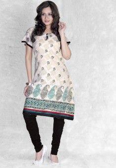 Cotton Kurtis Online Shopping at Desibutik.com