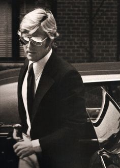 Robert Redford by Ron Galella  A classic. The standard by which a true gentleman should present himself.