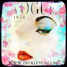 Retro Fashion Art, Vogue, Vintage Fashion Print, 1950s Fashion Art, Fashion Illustration, Vogue, Under 25 on Etsy, $20.00