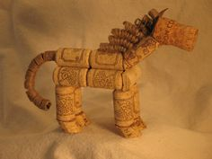 Whimsical Cork Horses for horse and wine enthusiasts. by corkhorse