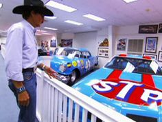Richard Petty Nascar Museum, Randleman, NC. Also toured Kyle Petty's garage. Big thanks to my ex's dad for that one!