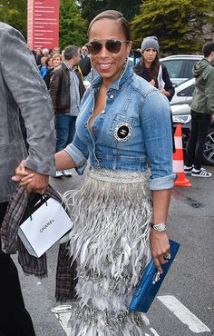91 Bags and the Celebrities Who Carried Them to Paris Fashion Week Spring 2016 Fall Outfits, Casual Outfits, Cute Outfits, Fashion Outfits, Womens Fashion, The Lady Loves Couture, Love Couture, Marjorie Harvey, Steve Harvey