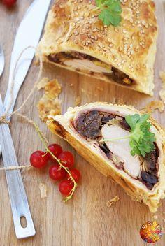 My Culinary Art: Polędwiczka wieprzowa w cieście francuskim - zdjęcia krok po kroku