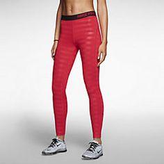 Nike Pro Hyperwarm Embossed Women's Training Tights - Small