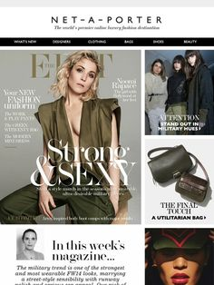 FW14's easiest style update, body boot camps and Noomi Rapace, all in The EDIT - Net-A-Porter