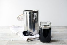 Cold-brewed coffee is easy to make.