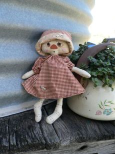 Gracie a free doll Pattern. - Cathron Country Designs