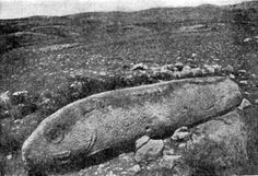 "Vishap, 1909 expedition. The unique monuments of prehistoric Armenia, ""višap"" vishaps (Arm. višap 'serpent, dragon' an Iranian borrwing) or ""dragon stones"" are spread in many provinces of historical Armenia – Gegharkunik, Aragatsotn, Javakhk, Tayk, etc."