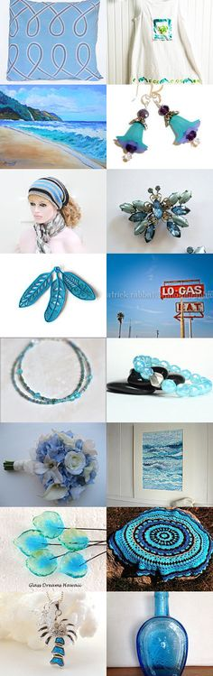 All in blues  by Art.work on Etsy--Pinned with TreasuryPin.com