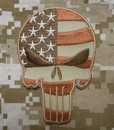 Punisher & America Tactical Patches, Tactical Gear, Military Pins, Velcro Patches, Punisher Skull, Tac Gear, Morale Patch, Old Glory, 9th Birthday