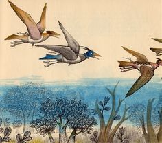 mr. biddle and the birds, illus. by adrienne adams