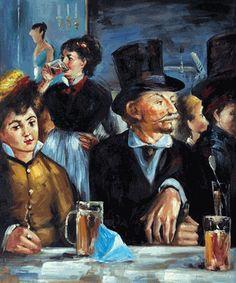 Edouard Manet - Cafe Concert