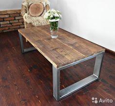 Журнальный столик в стиле Loft и Industrial купить в Москве на Avito — Объявления на сайте Avito