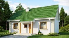 Projekat. NOVO kućica koja ima zeleni cijep   KucaSnova.com