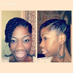 Natural Hair on Pinterest Two Strand Twists, Twist Outs and Finger ...
