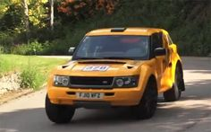 Bowler EXR-S ...  Fast SUV based on Land Rover