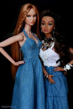 Denim Look | by YOKO*DOLLS