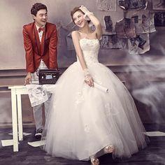 Sweet princess bride tube top wedding qi dress 2013 hs6251 $99.27