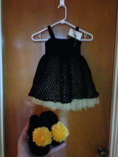 LSU Saints themed dress
