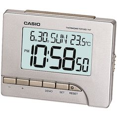 Casio dq747-8ef  #digital #alaram #clock,  View more on the LINK: http://www.zeppy.io/product/gb/2/192029382003/