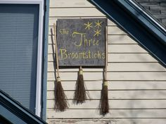 Sign for The Three Broomsticks house in Oxford, Ohio. Miami University, Art Quotes, Chalkboard Quotes, Ohio, Oxford, Sign, House, Columbus Ohio, Home