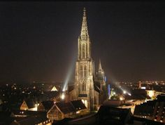 Cool  Ulm Munster tallest church in the world clib the tower Germany