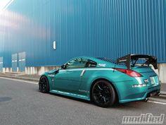 Ready to pounce Revolfe 350Z - via Modified Magazine: Booty 350Z, Nissan 350Z,