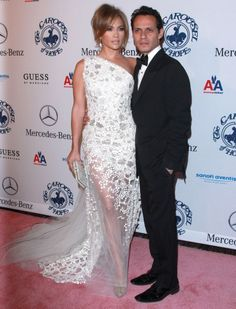 Celebrity couples at the Carousel of Hope Gala