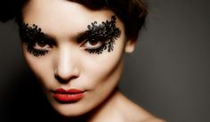 Haute Alert: Lace Your Winter Face « Kontrol Magazine