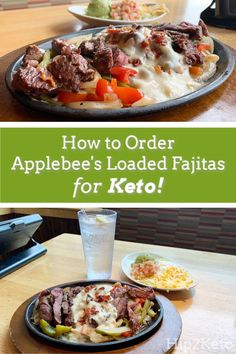 How to Order Applebee's Loaded Fajitas for Keto Healthy Fast Food Options, Keto Fast Food, Fast Healthy Meals, Keto Foods, Fast Foods, Keto Friendly Restaurants, Keto Restaurant, Restaurant Guide, Diabetes