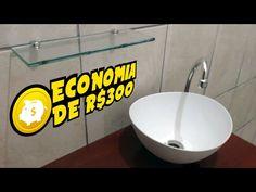 Small Bathroom, Sink, Sweet Home, Nova, Home Decor, Youtube, Inexpensive Bathroom Remodel, Cheap Bathrooms, Tiny Bathrooms