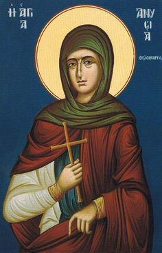 Anycia, Ascetic Martyr of Thessalonica