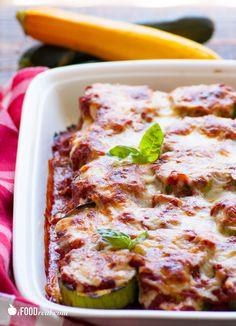 Light Zucchini Parmigiana Recipe --