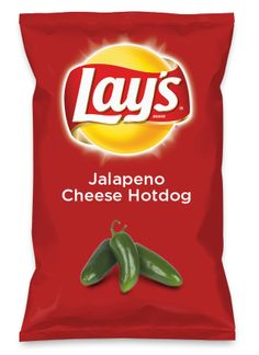 Wouldn't Jalapeno Cheese Hotdog be yummy as a chip? Lay's Do Us A Flavor is back, and the search is on for the yummiest flavor idea. Create a flavor, choose a chip and you could win $1 million! https://www.dousaflavor.com See Rules.