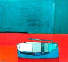 Raimonds Staprans -Sunday Morning Boat \\ THESE COLORS..! THEY SPEAK TO MY SOUL