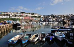 Early evening Brixham Harbour - Torbay