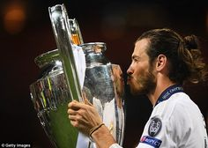 The midfielder is bidding to win the Champions League for a third time with Madrid