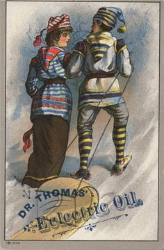 Dr. Thomas' Eclectric Oil. Year unknown.