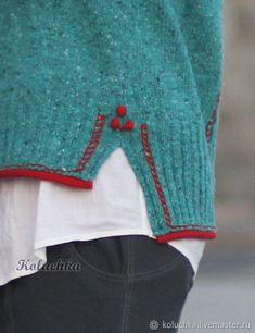 Sweatshirts and sweaters handmade. Arts and crafts fair. Knitting Stitches, Hand Knitting, Knitting Patterns, Knitwear Fashion, Knitting Projects, Diy Fashion, Knit Crochet, Sewing, Sweaters