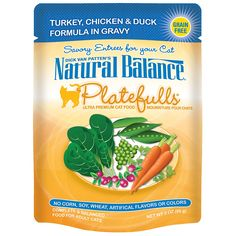 Natural Balance Platefulls Wet Cat Food Pouches >>> Unbelievable cat item right here! : Best Cat Food