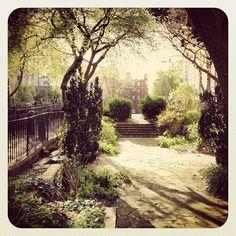 The Sunken Garden Awakes