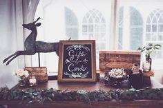 photo credit: Sara Smile, Fruitlands Museum Wedding, Natural, simple, effortless wedding flowers, wedding card and gift sign