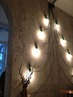 Holiday tree that doesn't require an actual or fake tree. Saves on space and clean up.