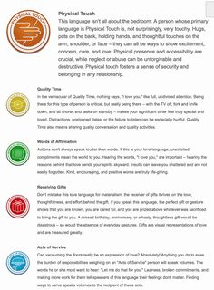 5 love languages test for work