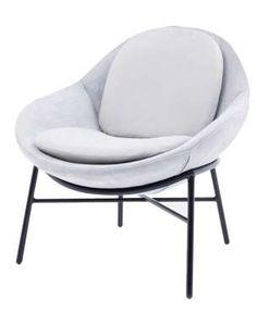 Chaise en tissu Oyster, Krystian Kowalski (Comforty) - D.R