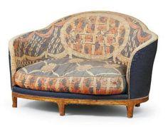 Art Nouveau Sofa by Maurice Dufrene (1876-1955)