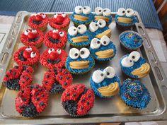 character cupcakes.