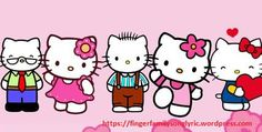 Hello Kitty Nursery, Finger Family Song, Nursery Rhymes, Funny, Baby, Fictional Characters, Ha Ha, Newborn Babies, Early Elementary Resources