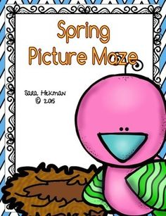 Spring Mazes: Follow the Picture